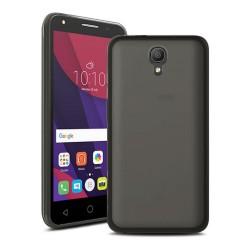 Funda Gel Tpu para Orange Rise 51 / Alcatel Pixi 4 (5) 4G / Vodafone Smart Turbo 7 Color Negra