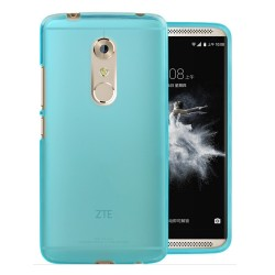 Funda Gel Tpu para Zte Axon 7 Color Azul