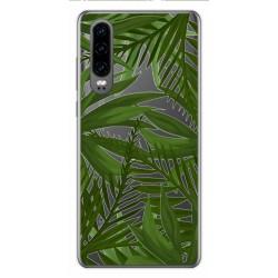 Funda Gel Transparente para Huawei P30 diseño Jungla Dibujos