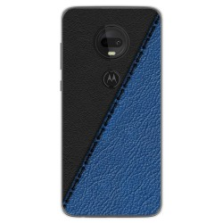 Funda Gel Tpu para Motorola Moto G7 / G7 Plus diseño Cuero 02 Dibujos