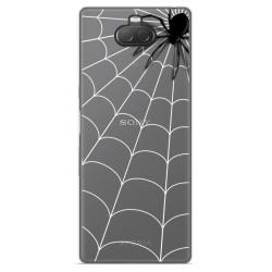 Funda Gel Transparente para Sony Xperia 10 diseño Araña Dibujos