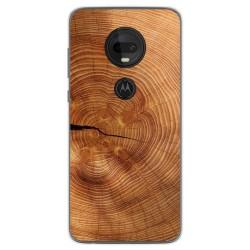 Funda Gel Tpu para Motorola Moto G7 / G7 Plus diseño Madera 04 Dibujos