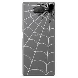 Funda Gel Transparente para Sony Xperia 10 Plus diseño Araña Dibujos