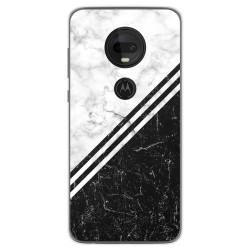Funda Gel Tpu para Motorola Moto G7 / G7 Plus diseño Mármol 01 Dibujos