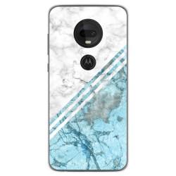 Funda Gel Tpu para Motorola Moto G7 / G7 Plus diseño Mármol 02 Dibujos
