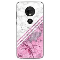 Funda Gel Tpu para Motorola Moto G7 / G7 Plus diseño Mármol 03 Dibujos