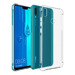 Funda Gel Tpu Anti-Shock Transparente para Huawei Y7 2019