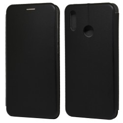Funda Libro Soporte Magnética Elegance Negra Huawei P Smart 2019 / Honor 10 Lite