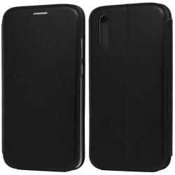 Funda Libro Soporte Magnética Elegance Negra para Huawei P20