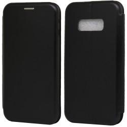 Funda Libro Soporte Magnética Elegance Negra para Samsung Galaxy S10e