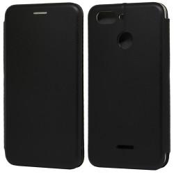 Funda Libro Soporte Magnética Elegance Negra para Xiaomi Redmi 6