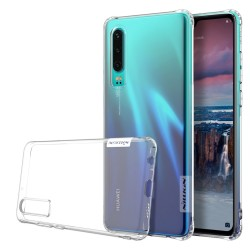 Funda Gel Tpu Nillkin Nature para Huawei P30 color Transparente
