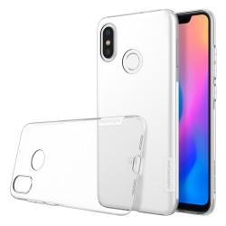 Funda Gel Tpu Nillkin Nature para Xiaomi Mi 8 color Transparente