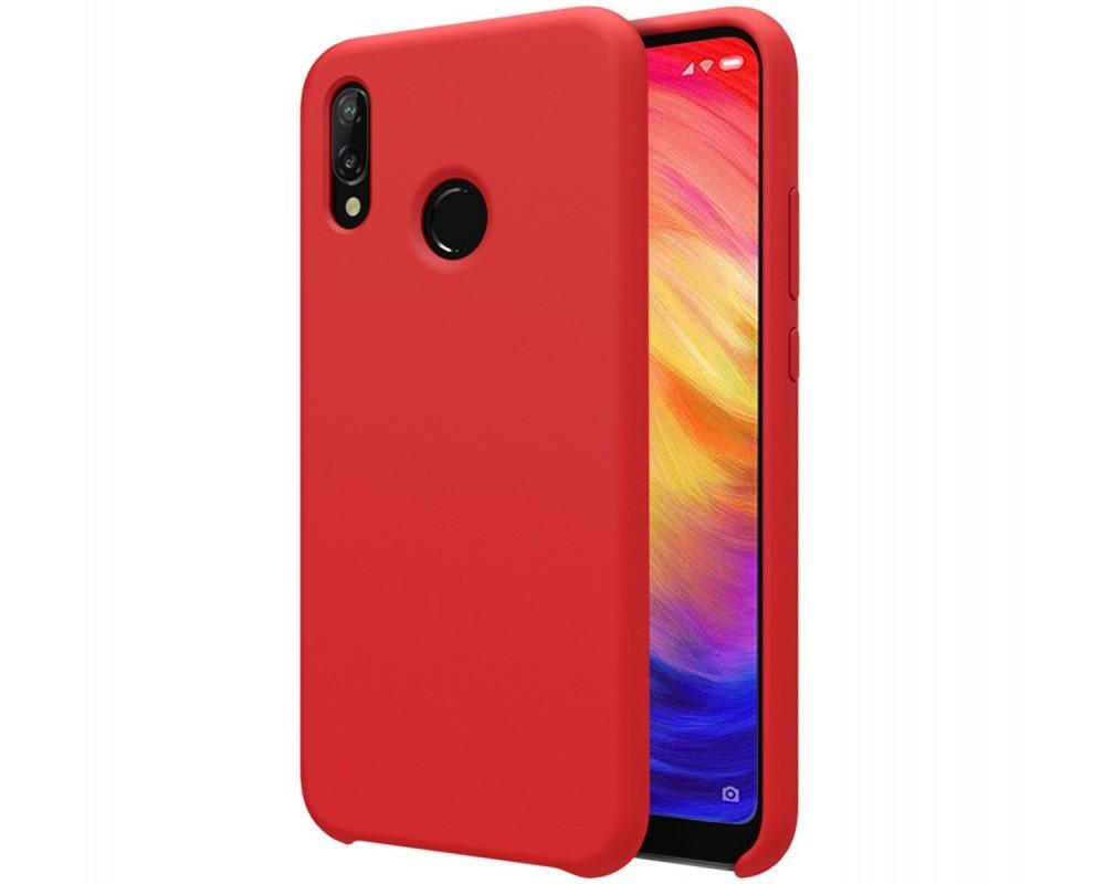 12b5c0c1db7 Funda Silicona Líquida Ultra Suave para Xiaomi Redmi Note 7 color Roja