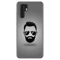 Funda Gel Tpu para Huawei P30 Pro diseño Barba Dibujos