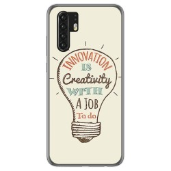 Funda Gel Tpu para Huawei P30 Pro diseño Creativity Dibujos