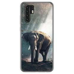 Funda Gel Tpu para Huawei P30 Pro diseño Elefante Dibujos