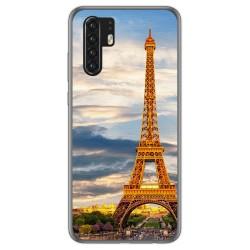 Funda Gel Tpu para Huawei P30 Pro diseño Paris Dibujos