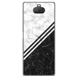 Funda Gel Tpu para Sony Xperia 10 Plus diseño Mármol 01 Dibujos
