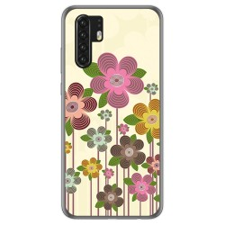 Funda Gel Tpu para Huawei P30 Pro diseño Primavera En Flor Dibujos
