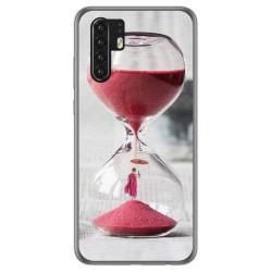 Funda Gel Tpu para Huawei P30 Pro diseño Reloj Dibujos