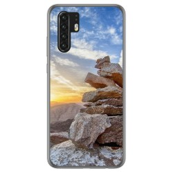 Funda Gel Tpu para Huawei P30 Pro diseño Sunset Dibujos