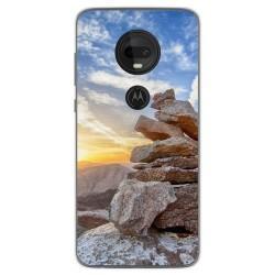 Funda Gel Tpu para Motorola Moto G7 / G7 Plus diseño Sunset Dibujos