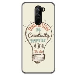 Funda Gel Tpu para Doogee X60 / X60L diseño Creativity Dibujos
