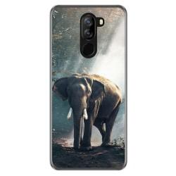 Funda Gel Tpu para Doogee X60 / X60L diseño Elefante Dibujos
