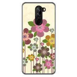 Funda Gel Tpu para Doogee X60 / X60L diseño Primavera En Flor Dibujos