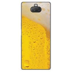 Funda Gel Tpu para Sony Xperia 10 diseño Cerveza Dibujos