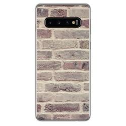Funda Gel Tpu para Samsung Galaxy S10 Plus diseño Ladrillo 01 Dibujos