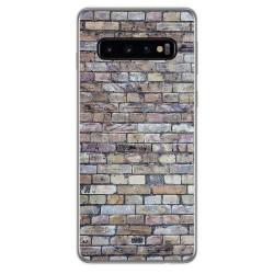 Funda Gel Tpu para Samsung Galaxy S10 Plus diseño Ladrillo 02 Dibujos