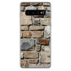 Funda Gel Tpu para Samsung Galaxy S10 Plus diseño Ladrillo 03 Dibujos