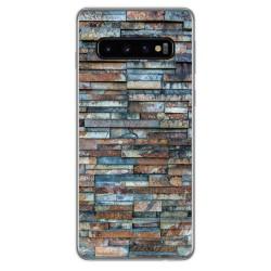 Funda Gel Tpu para Samsung Galaxy S10 Plus diseño Ladrillo 05 Dibujos