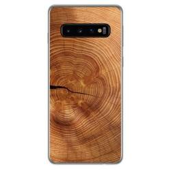 Funda Gel Tpu para Samsung Galaxy S10 Plus diseño Madera 04 Dibujos