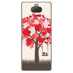 Funda Gel Tpu para Sony Xperia 10 diseño Pajaritos Dibujos
