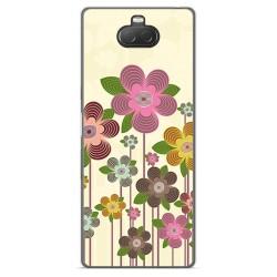 Funda Gel Tpu para Sony Xperia 10 diseño Primavera En Flor Dibujos