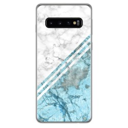 Funda Gel Tpu para Samsung Galaxy S10 Plus diseño Mármol 02 Dibujos