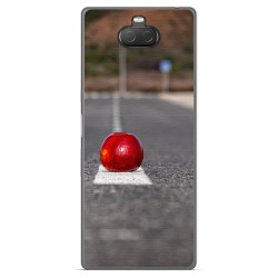 Funda Gel Tpu para Sony Xperia 10 Plus diseño Apple Dibujos