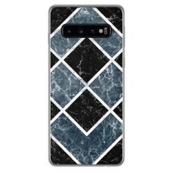 Funda Gel Tpu para Samsung Galaxy S10 Plus diseño Mármol 06 Dibujos