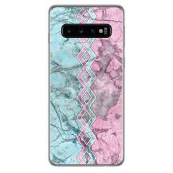 Funda Gel Tpu para Samsung Galaxy S10 Plus diseño Mármol 08 Dibujos