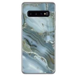 Funda Gel Tpu para Samsung Galaxy S10 Plus diseño Mármol 09 Dibujos