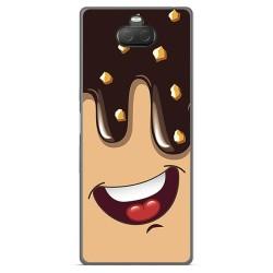 Funda Gel Tpu para Sony Xperia 10 Plus diseño Helado Chocolate Dibujos