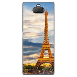 Funda Gel Tpu para Sony Xperia 10 Plus diseño Paris Dibujos