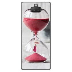 Funda Gel Tpu para Sony Xperia 10 Plus diseño Reloj Dibujos