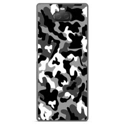 Funda Gel Tpu para Sony Xperia 10 Plus diseño Snow Camuflaje Dibujos