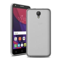 Funda Gel Tpu para Orange Rise 51 / Alcatel Pixi 4 (5) 4G / Vodafone Smart Turbo 7 Color Transparente