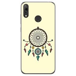 Funda Gel Tpu para Huawei Y7 2019 diseño Atrapasueños Dibujos
