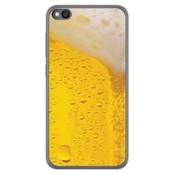 Funda Gel Tpu para Xiaomi Redmi Go diseño Cerveza Dibujos